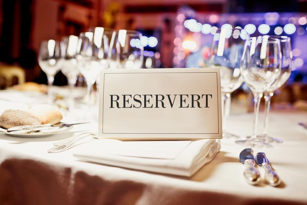 reservert